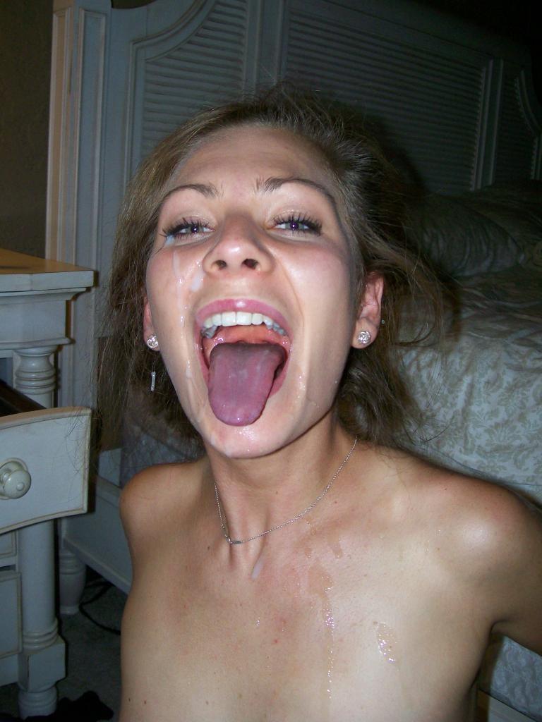 Фото в рот сперму 5 фотография