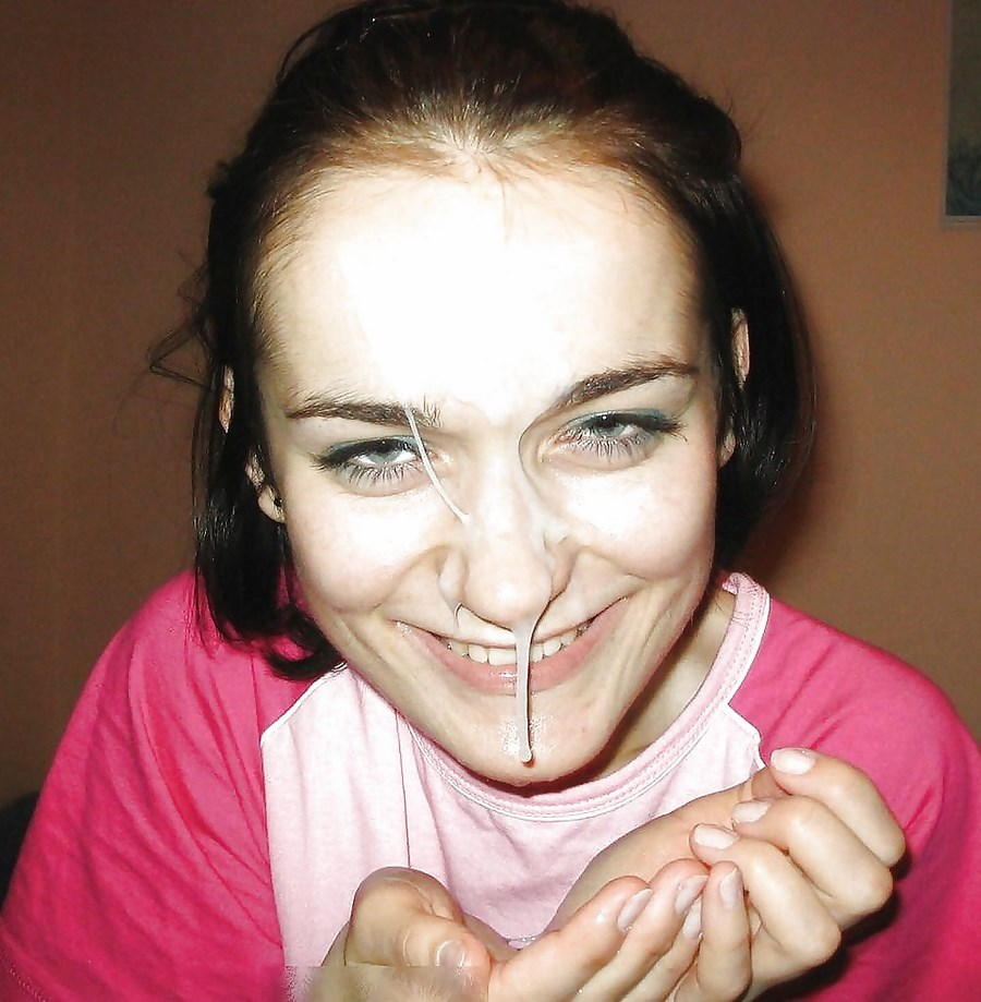 Сперма на лице топ 4 фотография