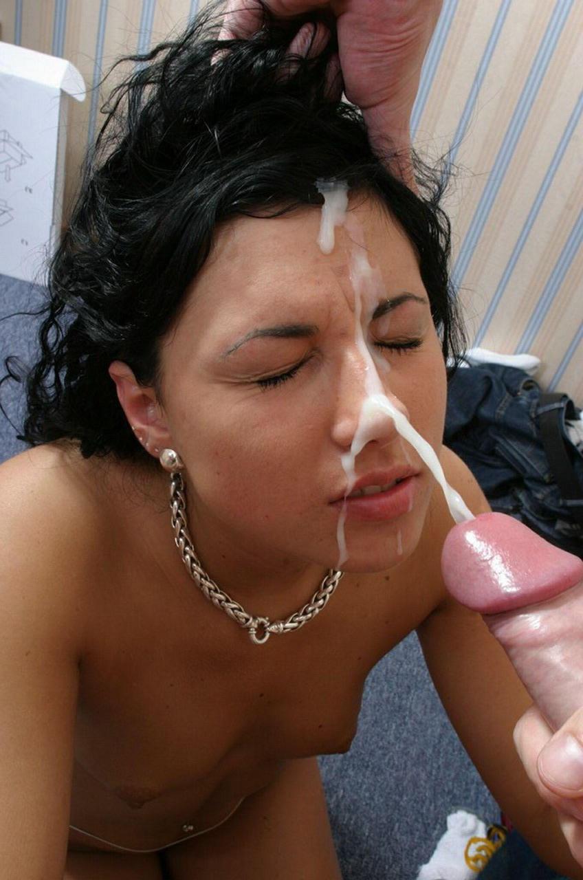 Со спермой на лице 5 16 фотография