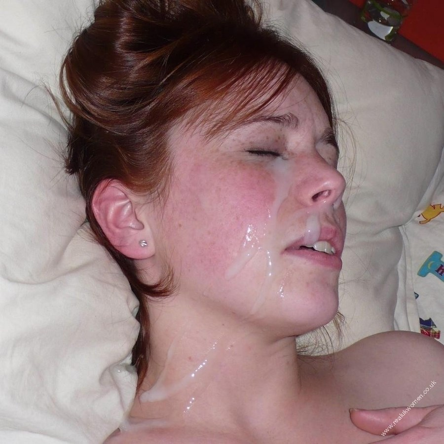 Сперма на лице зрелых
