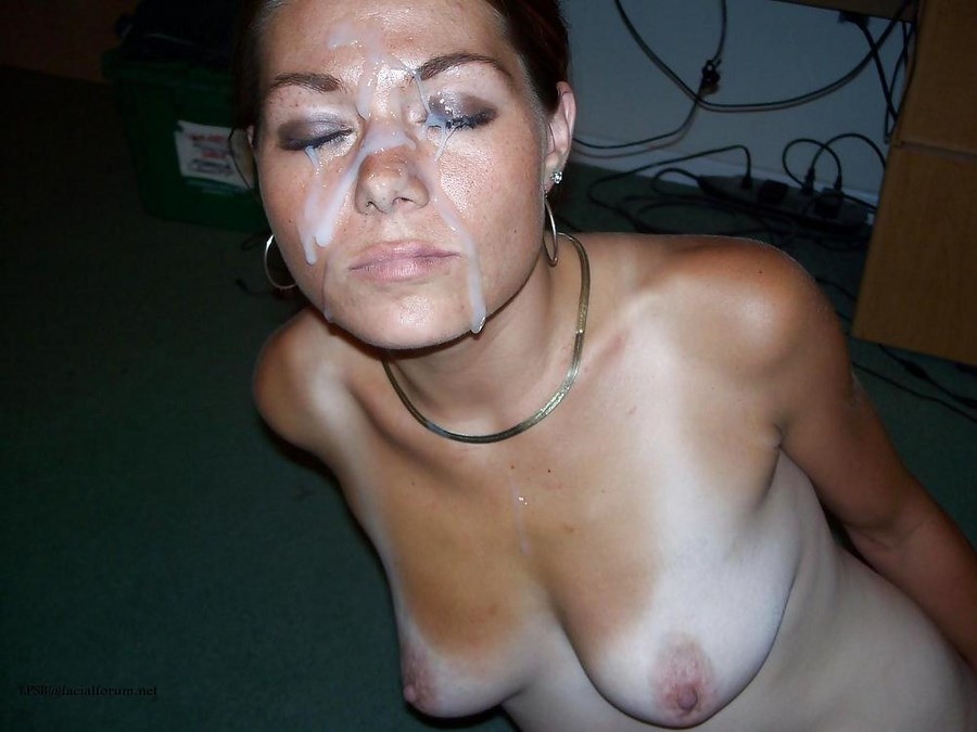 Лица девушек и женщин в сперме домашнее порно фото